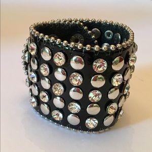 Jewelry - Bold Studded Statement Cuff